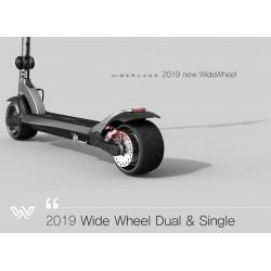 Trotineta electrica Wide Wheel Mercane 2019, acumulator 13,2 Ah, doua motoare,  1000W