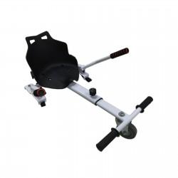 Hoverkart Alb (hoverseat, scaun) compatibil cu hoverboard de 6.5 inch si 10 inch