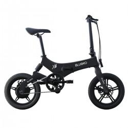 Bicicleta electrica Onebot BIKE S6, culoare Neagra, roti 16 inch, acumulator 6,4 mAh