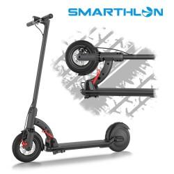 Trotineta electrica N4 Smarthlon, roata 8,5 inch, Motor 480 W, Culoare Neagra