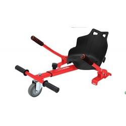 Hoverkart Rosu (hoverseat, scaun) compatibil cu hoverboard de 6.5 inch si 10 inch